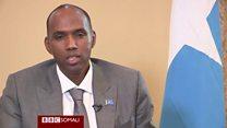 Ra'iisul wasaaraha Soomaaliya oo BBC-da uga warramay dagaalka ka dhanka ah Al Shabaab