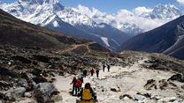Trekking to Everest: 'Challenging but rewarding!'