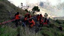 Semua pendaki yang terjebak di Gunung Rinjani sudah dievakuasi