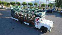 حافلة نباتات متنقلة من ابتكار شركة ناشئة لبنانية