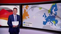 Reality Check: Would a 'no deal' Brexit prevent planes flying?