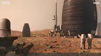 บ้านแห่งอนาคตบนดาวอังคาร