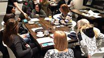 The university hosting 'menopause cafes'