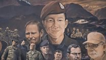 Thailand mural celebrates cave heroes