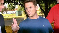 Why was Tommy Robinson in jail?