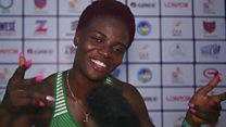 Nigeria first Gold medal don land for Asaba