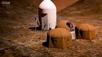Kako bi mogao da izgleda život na Marsu