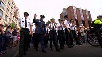 Police at Pride