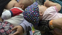 Breastfeeding brings thousands together