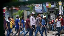 Bangladesh teen protest turns violent