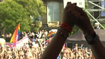 Thousands turn out for Leeds Pride parade
