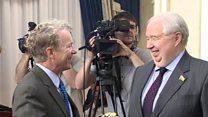 US senator's 'controversial' Russia talks