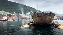 Arctic ship returns home after 100 years