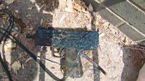 Magnetic fisherman finds machine gun in Enfield Lock