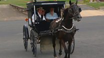 'Amish Uber' takes to the streets