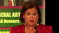 Mary Lou McDonald rejects border poll claims