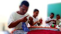 The Brazilian criminals learning crochet