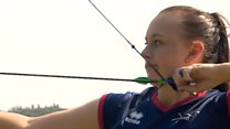 Archery star, 16, dreams of Olympic gold