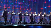 Parti Dawnsio Gwerin dan 25 oed (96) / Folk Dancing Group under 25 years (96)