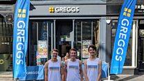 The 'Matts vs Greggs' charity challenge