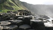 Con at the Giant's Causeway?