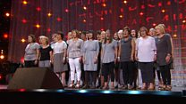 Côr Llefaru dros 16 mewn nifer (145) / Recitation Choir over 16 members (145)