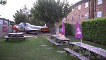 The beer garden aviation sensation