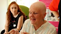 The pamper sessions for cancer patients