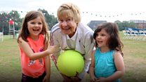 'Grandma tennis' plays 60th tournament