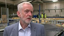 Corbyn reacts to 'terror memorial' claims