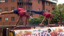 Gymnastics medallists return to Birmingham
