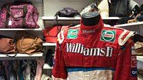 Charity shop given Schumacher Formula 1 suit