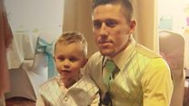 Father's tribute to son killed in crash