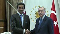 تنفس مصنوعی قطر به لیر ترکیه