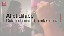 Atlet difabel, duta Indonesia di pentas dunia