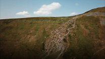 Erosion on Yorkshire's three peak path