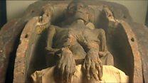 اجساد مومیایی دست نخورده درموزه تاریخ باستان