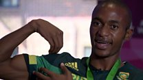 Luxolo Adams: 'Usain Bolt is my inspiration'