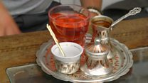 Why Bosnian coffee is served with sherbet