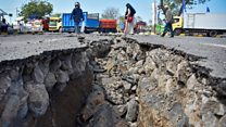 Two strong earthquakes shake Lombok