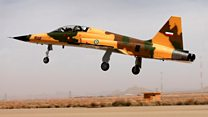 Iran unveils domestically-produced warplane