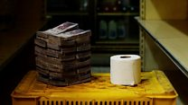 Why loo roll costs Venezuelans stacks of cash