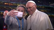 What else did Pope Francis do in Ireland?