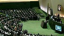 برکناری وزیر اقتصاد ایران از سوی مجلس