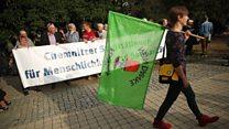 Người nhập cư Đức: biểu tình đụng độ ở Chemnitz