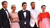 Stars hit Venice Film Festival red carpet
