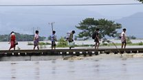 Ruptured dam floods Myanmar villages