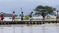 Ruptured dam floods Myanmar villages