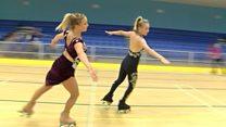 Roller skating sisters make history