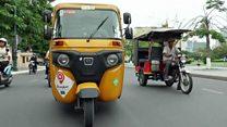 Aprende inglés: Los tuk-tuk de Cambodia tienen rivales
